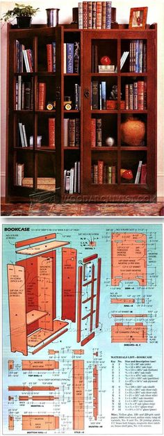 Building Bookcase - Furniture Plans and Projects | WoodArchivist.com