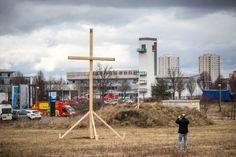 Erfurt: Unbekannte spießen Tierkadaver auf Moschee-Baugrund - SPIEGEL ONLINE - Politik
