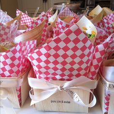 "We love our ""lunchboxes"" from Palette Catering, here in Little Rock (a local gem!)"
