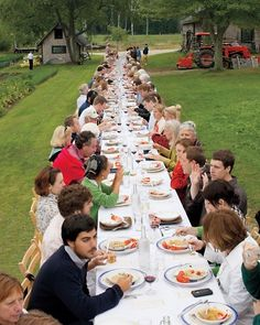 Farm to table dining. The perfect ambiance to share some Ohio grown foods! #OhioProud