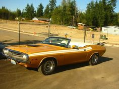 1971 Dodge Challenger 340 Convertible With N96 Shaker Hood (1 of 11)