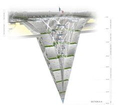 Seduced by the New...: Concept Architecture  65 Level underground mini city.