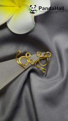 Wire Jewelry Rings, Wire Jewelry Designs, Wire Jewelry Making, Handmade Wire Jewelry, Diy Crafts Jewelry, Wire Crafts, Wire Wrapped Jewelry, Jewellery, Bijoux Fil Aluminium