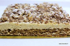 Sweet coffee cake… very sweet, from PhilippeConticini - - Top Recipes, Sweet Recipes, Cake Recipes, Cooking Recipes, Chefs, Yogurt, Campbells Recipes, Homebrew Recipes, Sweet Coffee