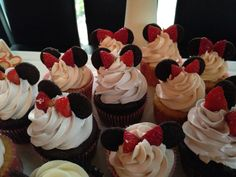 Minnie Inspired Cupcakes