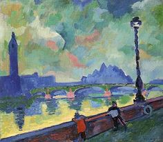 River by Andre Derain