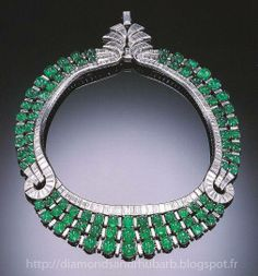 Diamond and Emerald Necklace by Van Cleef & Arpels 1030
