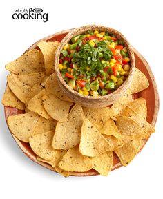 Avocado-Corn Salsa #recipe