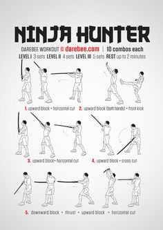 Ninja Hunter Workout