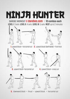 Ninja Hunter Workout
