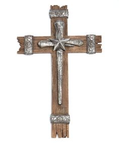 This Country Star Wall Cross by Montana West is perfect! #zulilyfinds