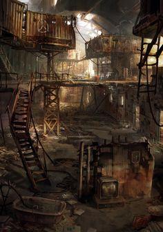 фоны / Sci-Fi inspiration / future city