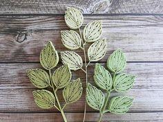 quilling leaf #quilling#paperquilling#quillingart#quillingleaf #papercrafts…