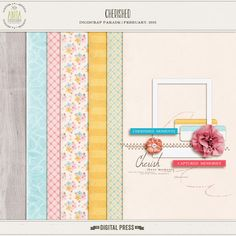 Quality DigiScrap Freebies: Cherished mini kit freebie from Anita Designs