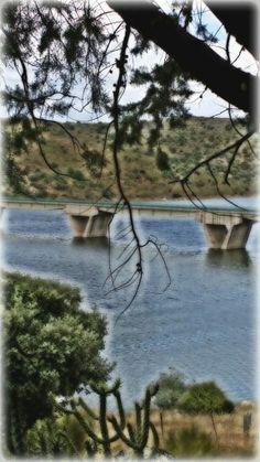 Ceclavín. Rio alagón. Cáceres. España