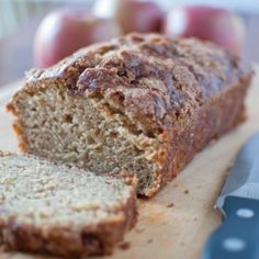 Scrumptious apple bread... moist and full of flavor.  A perfect recipe for any time of the year!