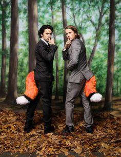 """Here's a recent outtake of the foxy Ylvis boys from The Hollywood Reporters 'Rule Breakers' issue on news stands now. For those not sure who or what Ylvis is they are the comedic duo (brothers) from Norway behind mega hit """"What does the Fox say?""""… Gohereto see a complete gallery from the issue with more Ylvis from me and images by Miller Mobley, Matt Furman, Christopher Patey, Dan Monick, Austin Hargrave, Ruven Afanador, Jimmy King, Ramona Rosales, Nathan ..."""