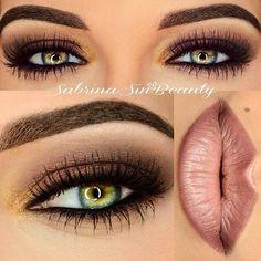 "sephora-obsessed: ""makeupbag: "" http://makeupbag.tumblr.com/ "" I love plummy brown lip colors like that. """