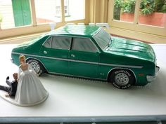 Green Ford Car  Cake by PaulDelaney