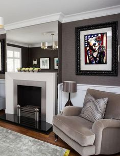 A grey living room sure can be cozy. Take a close look at these great ideas. For more home decor go to hackthehut.com