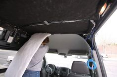 Choosing which type of insulation to use in your DIY Sprinter campervan can be stressful. After much research, we chose to go with these 5 different layers for insulating our van for sound and temperature. Speaker Box Carpet, Orange Led Lights, Van Wall, Adventure Campers, Camper Van Conversion Diy, Portable Toilet, Composting Toilet, Roof Rails, Sprinter Van