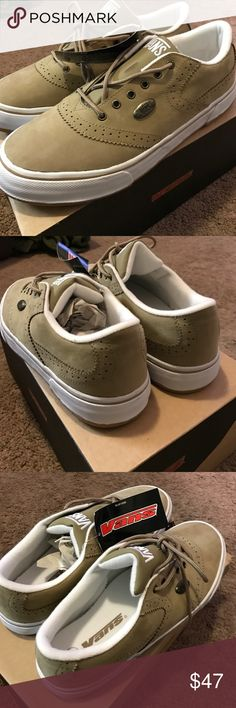 Vans SECONDS SUEDE,RARE Mens 12,tan,white, New. Vans SECONDS SUEDE,RARE Mens 12,tan,white, New., comfort, flexibility and grip. CLOSET FULL OF PERFECT GIFTS🎁. RECEIVE 20% OFF when you BUNDLE 2 or more items.  MY CLOSET includes Brand new vans, Nike, asics, Mostly NEW ITEMS some USED🎄WILL SHIP NEXT DAY. Vans Shoes Sneakers