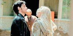 There are a lot of epic romances on Once Upon a Time, but nothing comes quite as close to Captain Swan. Not only do Captain Hook and Emma Swan make one sexy Once Upon A Time, Emma Swan, Best Tv Shows, Best Shows Ever, Last Rites, He Is Alive, Hook And Emma, Outlaw Queen, Colin O'donoghue