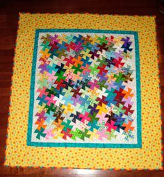 How to design and piece Twister quilts