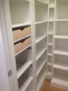 Closet Creations designed this Pantry