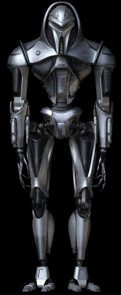 Cylon from the Battle Star Galactica series. Put many old school 1978 Cylons out on the street it seems.