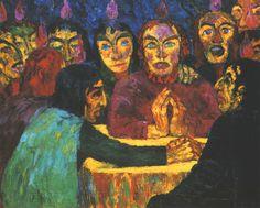 """""""Pentecost"""" by Emil Nolde 1912"""