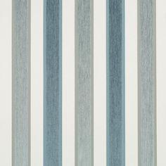 Blue Grey Velvet Stripe Upholstery Fabric - Custom Velvet Stripe Pillows…