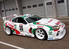 Castrol Toyota Supra GT500. Favourite car to play in Gran Turismo