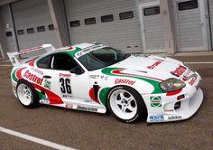 Castrol Toyota Supra GT500. Favourite car to play in Gran Turismo
