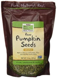 Now Foods Raw Pumpkin Seeds - 1lb