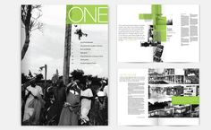 ONE: ZANA BRISKI  A publication designed for the TED prize winner, Zana Briski. Showcased is Briski's work and others who use the medium of photography as a tool to combat poverty and injustice in the lives of children.