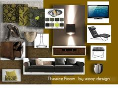 Theatre Room - Designed by Wendy Barnard