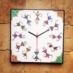 Warli clock