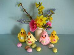 Crochet Mini Chicklets