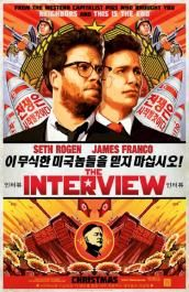 The Interview on DVD February 2015 starring Seth Rogen, James Franco, Lizzy Caplan, Randall Park. In the action-comedy The Interview, Dave Skylark (James Franco) and his producer Aaron Rapoport (Seth Rogen) run the popular celebrity tablo Streaming Movies, Hd Movies, Movies To Watch, Movies Online, Movies And Tv Shows, Movie Tv, Funny Movies, Streaming Vf, 2015 Movies