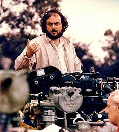 Stanley Kubrick on set of Barry Lyndon