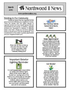 Homeowners Association Marketing (HOA) - Newsletter, Brochure, Flyer ...