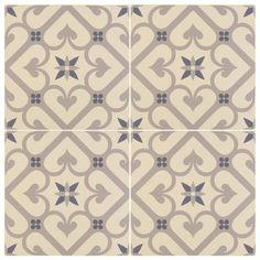 Epoque Blue - kitchen floor tiles