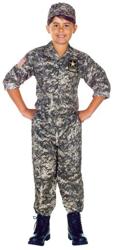 Awesome Costumes U.S. Army Camo Set Child Costume just added...