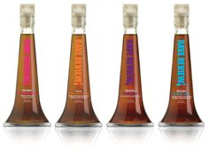 Cooking Spirits packaging by Karim Rashid for Rave Review