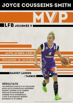 Joyce Cousseins-Smith - MVP Française - LFB Journée #9