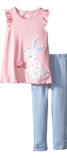 Mud Pie Bunny Tunic and Leggings Set (Infant/Toddler) (Pink) Girl's Suits Sets - Mud Pie, Bunny Tunic and Leggings Set (Infant/Toddler), 1112327, Apparel Sets Suits, Suits, Sets, Apparel, Clothes Clothing, Gift, - Street Fashion And Style Ideas