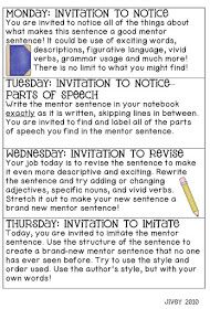 Revisiting mentor sentences this blog is a wealth of information ideas by jivey for the classroom revisiting mentor sentences stopboris Image collections