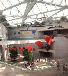 National Gallery of Art Washington DC -- Calder Mobile