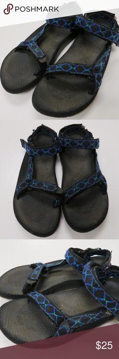 Teva Water Sport Sandals Mens 11 Blue Black Trail Teva men's sport sandals size 11.  I ship fast and package securely for safe delivery! Teva Shoes Sandals & Flip-Flops
